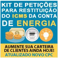 kit petições para restituição icms energia - repetição de indébito